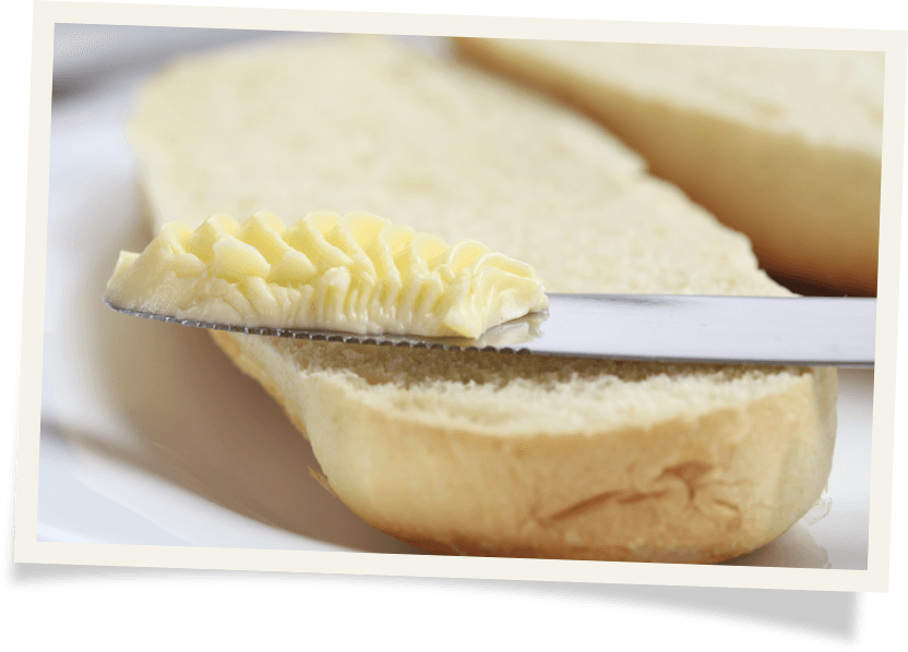 Spreadable butter